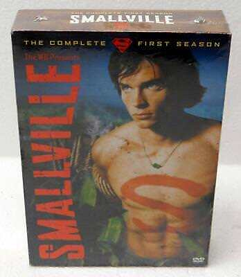 NEW SEALED 6 Disc Set  - Complete 1st Season of WB TV Series SMALLVILLE 2003