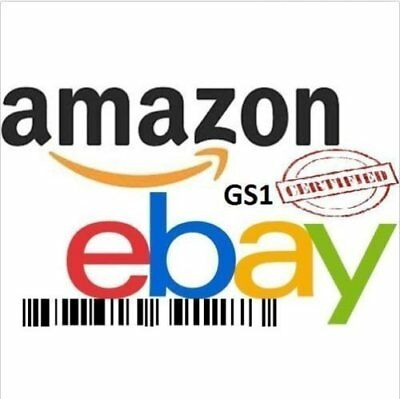 25 UPC Numbers Barcodes Bar Code GS1 Certified EAN Amazon Lifetime Guarantee