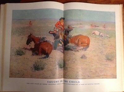 """Done in the Open"" Drawings by Frederic Remington, 1902 Edition"
