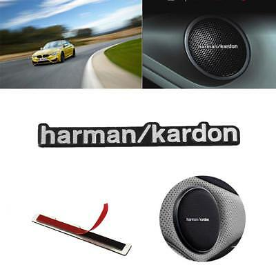5PCS Harman Kardon Car Audio Speaker Badge Decal Stickers Adhesive For BMW Benz