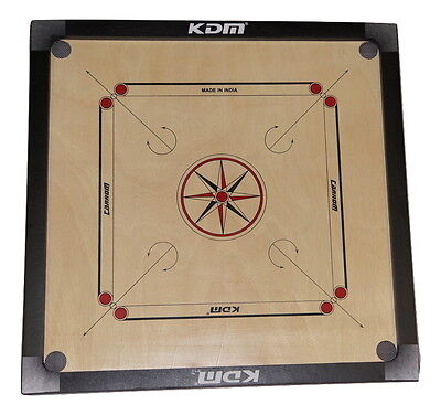 Brand New Carrom (Carom) Board Comes With Striker and Coins Full Size 82 cm