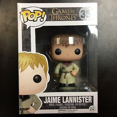 Funko POP Game of Thrones Jaime Lannister Gold Hand VAULTED - Mint Box