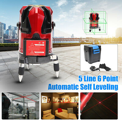 Professional Automatic Self Leveling 8 Lines 360° Rotary Laser Level Measure
