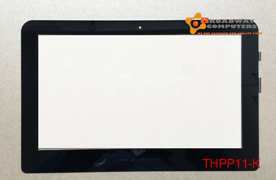 """11.6"""" Touch Screen Digitizer Glass for HP PAVILION 11-K X360 Black ribbon"""