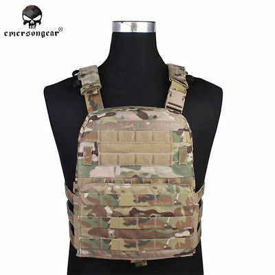 EMERSON Tactical Vest Molle AVS Plate Carrier CP Style Body Armor Wargame Duty