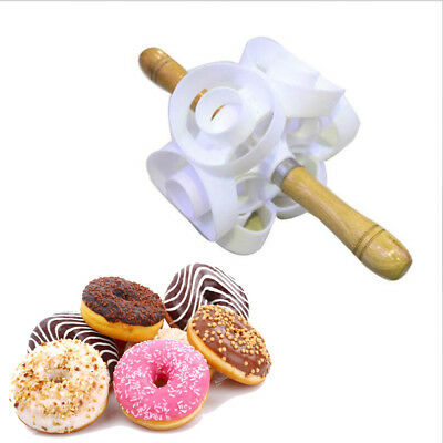 New Fast Revolving Donut Cutter Maker Mould Molding Machines Safety Convenience