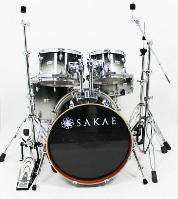 Sakae Road Anew Black Silver Fade Set mit Hardware