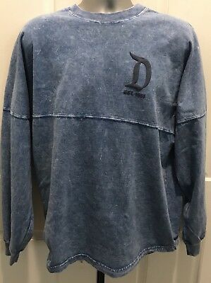 "Disneyparks ""Disneyland Resort Est. 1955"" Spirit Jersey Denim Blue  Small Nwt!"