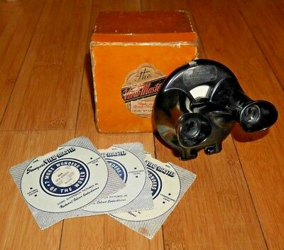 Rare Uk Version - Sawyer's Viewmaster Viewer Model B Clamshell 1944-47   A833