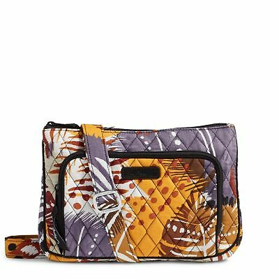 9f74aa95e6cc VERA BRADLEY LITTLE Hipster Crossbody Bag in Painted Feathers NWT ...