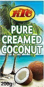 KTC Pure Creamed Coconut 200g (Pack of 40)