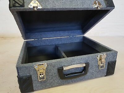 """7"""" inch Singles Vinyl Record DJ Carry Case Storage Box Tough Strong Holds 200"""