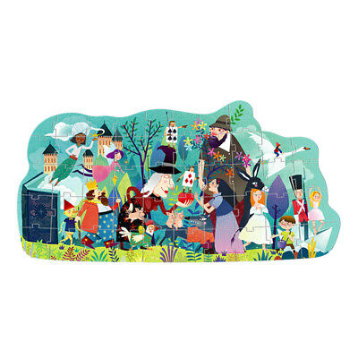 48Pieces/Set Unisex Kids Fairy Tale Parade Jigsaw Puzzle Early Learning Toys