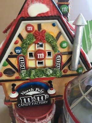 department 56 North Pole M & Ms Candy Factory Retired 56773