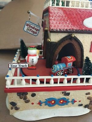 Department 56 Wind up toy factory retired 56757