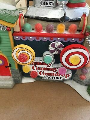 Department 56 Yummy Gummy Gumdrop Factory retired 56771