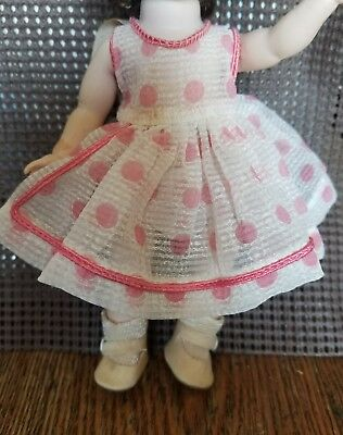 Rare 1950's Madame Alexander Alexander-kin Doll Tagged Dress Outfit