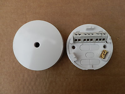 10x Ceiling Rose 3 Terminal with Earth Ashley RL624 Hager