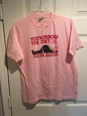 SILVER SLIPPER Casino, Las Vegas, Vintage T-shirt XL BUFFET / DIET 017