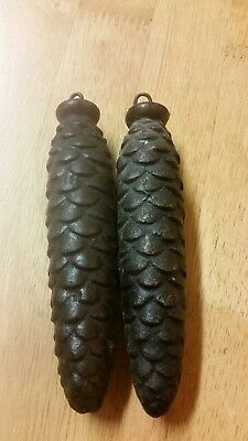 One Pair of Weights  FOR BLACK FOREST CUCKOO CLOCK.Excelent condition