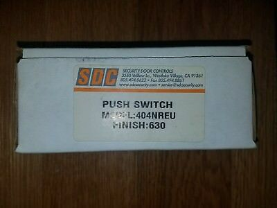 Security Door Controls SDC 404NREU Heavy Duty Push Switch