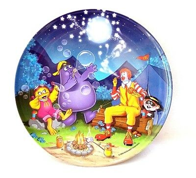 McDonalds Collector Melamine Plastic Children's Plate 2004-05 EUC