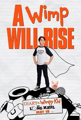 Diary of a Wimpy Kid The Long Haul 27x40 DS Movie Poster Read Description
