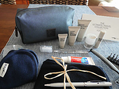 BRITISH AIRWAYS BA First Class Gent' s Amenity Kit Trousse Neceser Kulturbeutel
