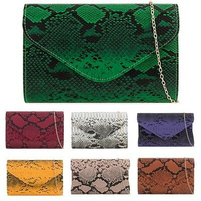 Patent Leather Party Prom Evening Wedding Bridal Clutch Shoulder Handbags