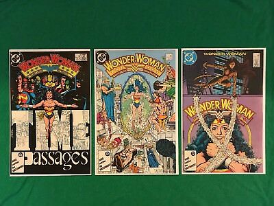 Wonder Woman #7, 8, 9 (1987) 1st Appearance and Origin of Cheetah Box Shipped