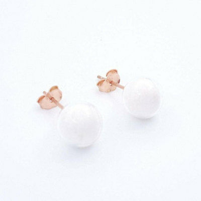 DIY breastmilk Jewelry - rose gold ear rings-Keepsake/ Baby Shower/ Mother's Day