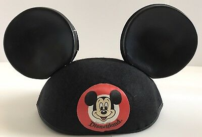 9ecc7d08f VINTAGE MICKEY MOUSE Hat/Ears From Disneyland Made in USA by Benay Albee