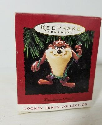1994 Hallmark Tasmanian Devil Christmas Holiday Keepsake Ornament Looney Tunes