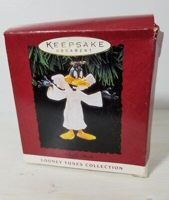 Daffy Duck Angel Looney Tunes 1994 Hallmark Keepsake Christmas Ornament - In Box