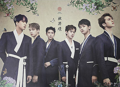 VIXX - Shangri-La (4th Mini) [Birth Flower ver.] OFFICIAL POSTER with Tube Case