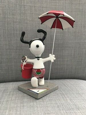 Snoopy Peanuts On Parade Fun In The Sun #8397 Westland Giftware Charles Schulz