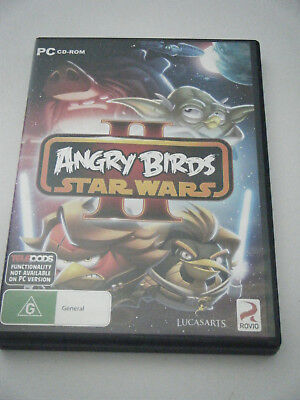 PC /CD ROM Star Wars angry Birds