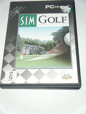 PC /CD ROM - Sim Golf - Compete on courses you create.