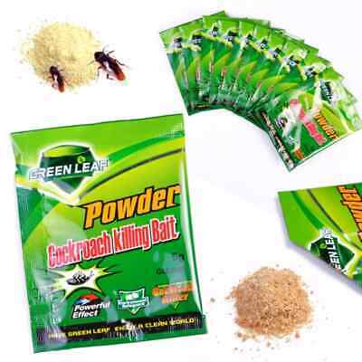 5 x 5g Cockroach Killing Bait Powder 100% BETTER THAN PEST CONTROL