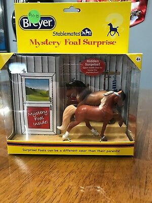 Breyer Stablemate Stablemates Mystery Surprise Foal TWH and Arabian NIB