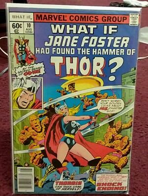 WHAT IF #10 Jane Foster Was Thor Marvel Comics 1978 1st appearance key hot nice