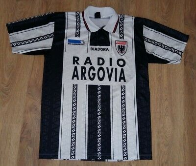 Aarau Switzerland 1996 - 1997 rare vintage home shirt size L
