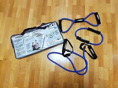 Neuwertiges Fitness Expander Set HY SPORTS inkl. DVD