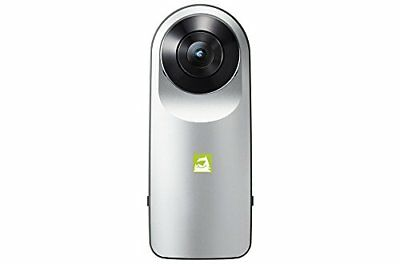 LG 360 CAM Compact Spherical Camera 13MP 2K Wide Angle R105 Android iOS New I