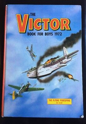 The Victor Book For Boys 1972 / Annual / Hardback