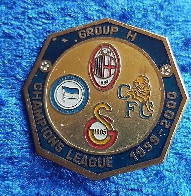 HERTHA BSC,Pin,Bages,Champions League Group H,1999-2000