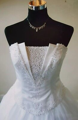 Wedding dress Benjamin Roberts size 10 to 12 bodice with  Essence size 12 skirt