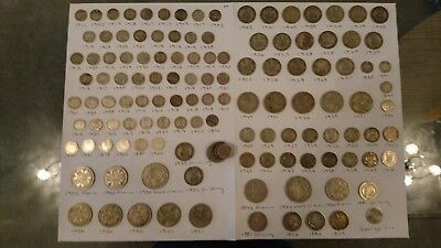 Massive collection of silver British coins including some key dates