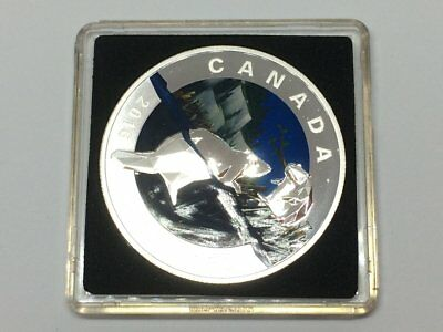 Canada 20 dollars proof coins the beaver-art in geometry