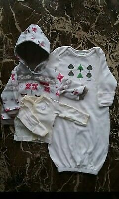 Baby Clothes ~ Gender Neutral ~ 0-3 Months ~ Lot of 3